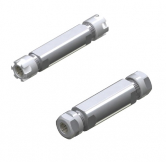雙頭短鼻型側固直柄ERM型螺帽筒夾刀桿 & 雙頭短鼻型側固直柄ER筒夾刀桿